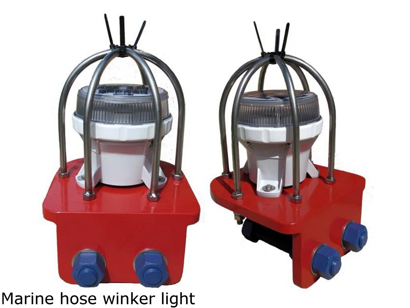 Marine hose winker lights